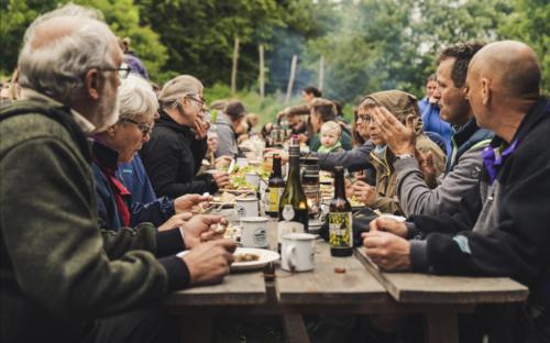 Fest på Karpenhøj naturcenter